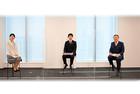 テレビ出演のご報告 -武蔵野銀行長堀頭取と当社代表三宅のトップインタビューが放映!-